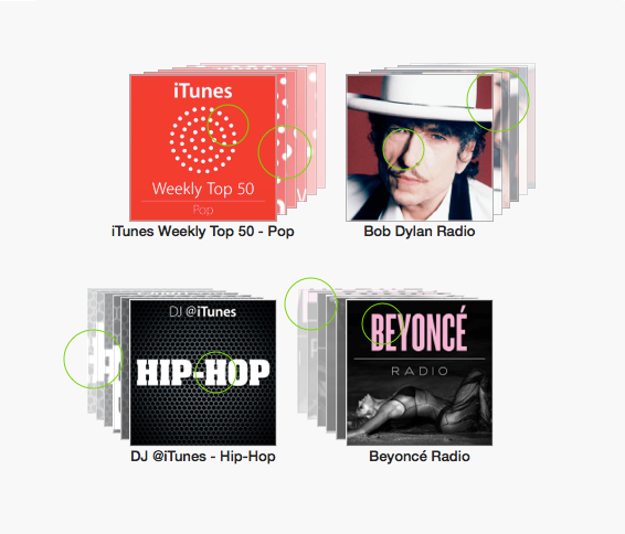 """""""iTunes Radio Album Art"""""""